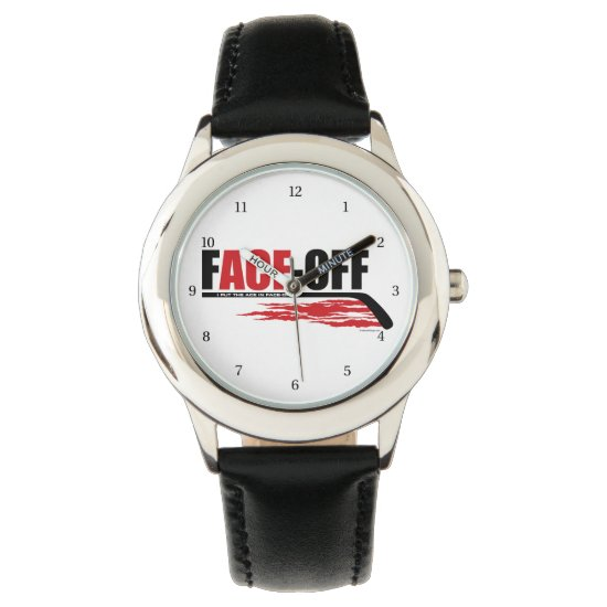 Face-Off Ace (Hockey) Wrist Watch