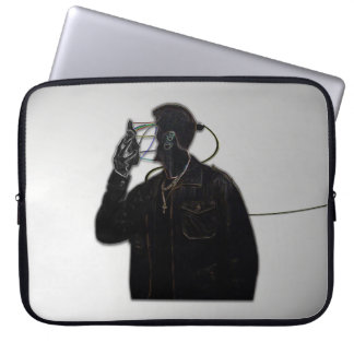 Face Off Laptop Sleeve