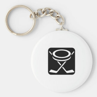 Face Off Puck Key Chains