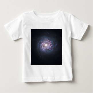 Face On Spiral Galaxy NGC 3982 from the Hubble Baby T-Shirt