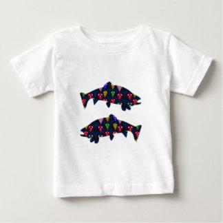 Face PAINTED fIsh TROUT kids NavinJOSHI NVN98 FUN T-shirt
