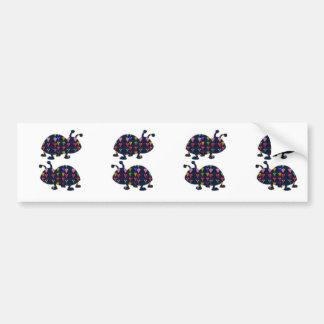 Face painted LADYbug bug kids navinJOSHI NVN106 FU Car Bumper Sticker