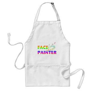 Face Painter Adult Apron