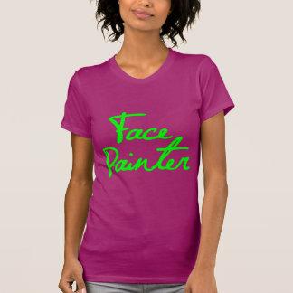Face Painter Script 1 Tee Shirt