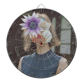 face pale flower dartboards