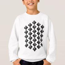 Face pattern sweatshirt