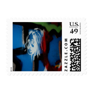 face postage stamp