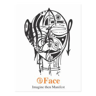 Face Range Postcard