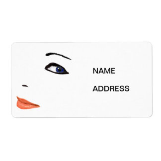 Face Return Labels Shipping Label