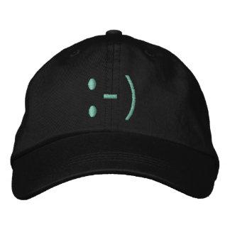 FACE, SMILING cap