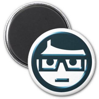 Face spectacle wearer eyeglasses face eyeglasses 2 inch round magnet