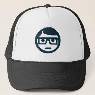 Face spectacle wearer eyeglasses face eyeglasses trucker hat
