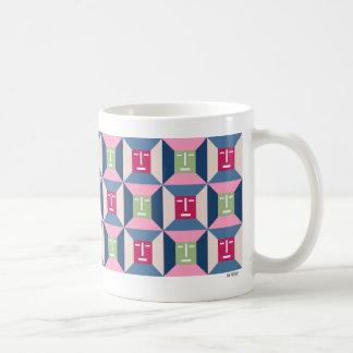 Face Squares 3 Classic White Coffee Mug