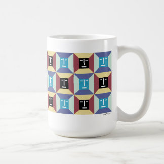 Face Squares 5 Mugs