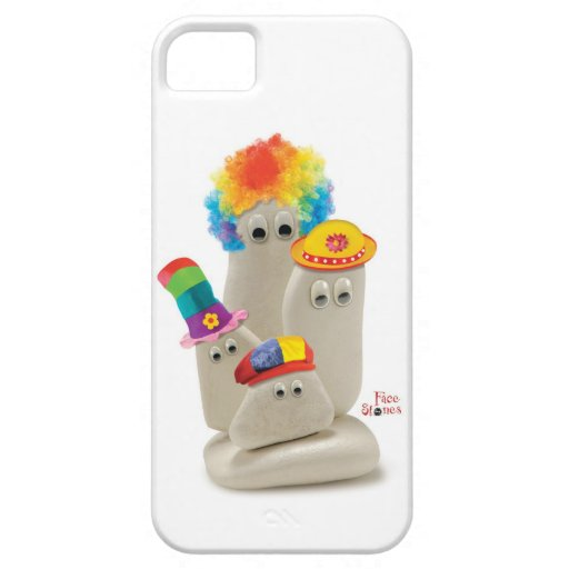 Face Stones Clowns on Case-Mate iPhone 5 iPhone 5 Covers