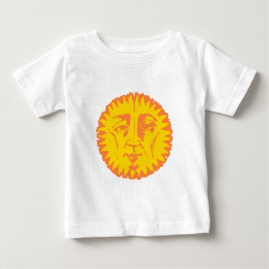 Face suns sun face baby T-Shirt
