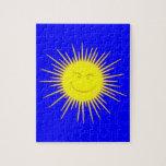 Face suns sun face jigsaw puzzle