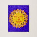 Face suns sun face jigsaw puzzles