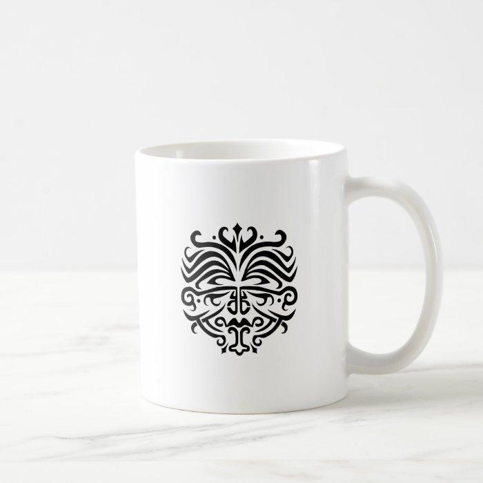 Face Tattoo Coffee Mug