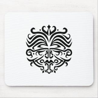 Face Tattoo Mousepads