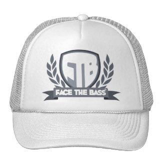 Face The Bass Shield Trucker Hat