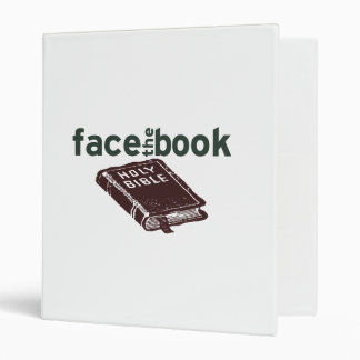 Face The Book 3 Ring Binder