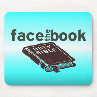 Face The Book Mouse Pad