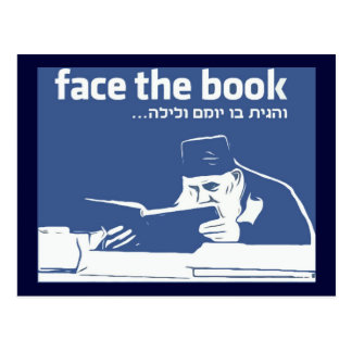 Face the Book Post Cards