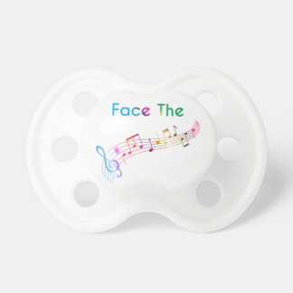 Face The Music Pacifier