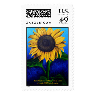 Face the Sun Postage Stamp