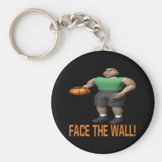 Face The Wall Keychain