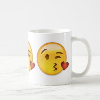 Face Throwing A Kiss Emoji Coffee Mug