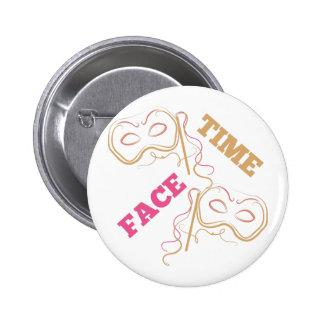 Face Time 2 Inch Round Button