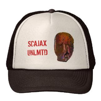 face, weird, abstract, skater, punk trucker hat
