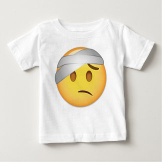 Face With Head-Bandage Emoji Baby T-Shirt