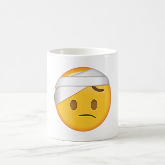 Face With Head-Bandage - Emoji Coffee Mug