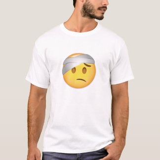 Face With Head-Bandage Emoji T-Shirt