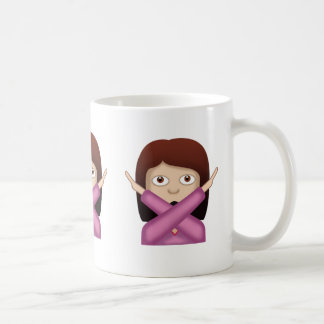 Face With No Good Gesture Emoji Coffee Mug