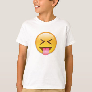 Face With Stuck Out Tongue & Tightly Closed Eyes T-Shirt