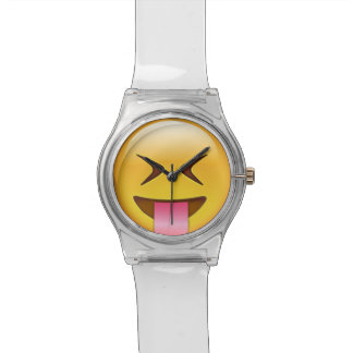 Face With Stuck Out Tongue & Tightly Closed Eyes Wrist Watch