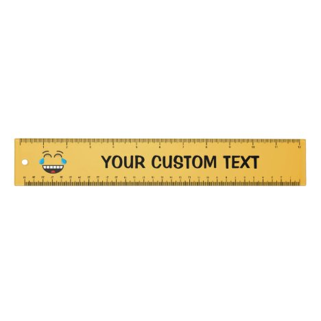 Face With Tears of Joy 12 inch Ruler