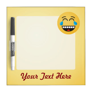 Face With Tears of Joy Dry Erase Board