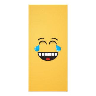 Face With Tears of Joy Rack Card