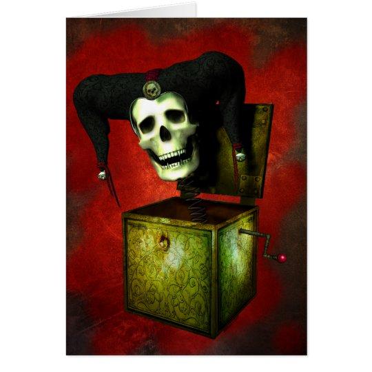 Face Your Fears Halloween Card