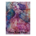 """Face Your Fears"" Poster"