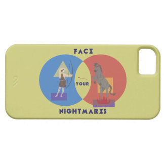 Face Your Nightmares iPhone 5/5S Case