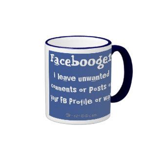 Facebooger Blue x White Mug