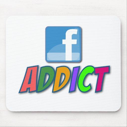 Facebook Addict Mousepad
