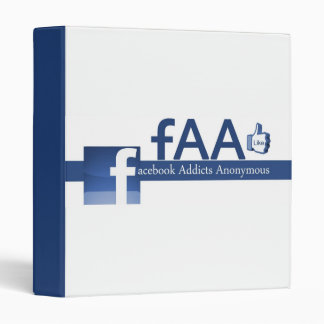 Facebook Addicts Anonymous Binder