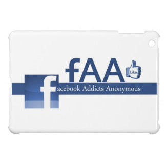 Facebook Addicts Anonymous iPad Mini Case